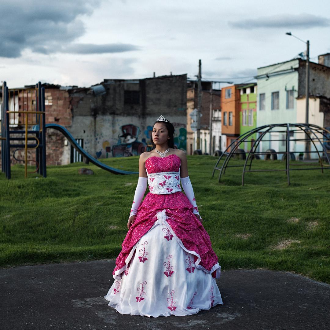 "7de7fbe5ac ... Delphine Blast - Photographer -    Celebrating the ""quinceañera"" in ..."